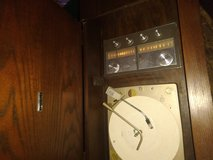 Old record and radio in DeRidder, Louisiana