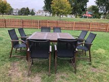 Patio Table w/ 8 Chairs in Chicago, Illinois