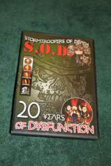 S.O.D.- 20 Years of Dysfunction DVD & CD Set in Camp Lejeune, North Carolina