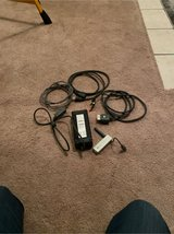 pile of XBOX 360 cables & parts in Batavia, Illinois