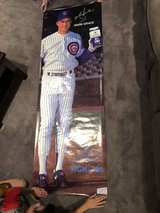 Mark Grace - Dean Foods / WGN 720 poster (growth chart) in St. Charles, Illinois