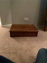 heavy duty old oak desktop w drawer in Sugar Grove, Illinois