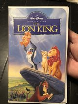 Lion king vhs (Walt Disney masterpiece collection) in Chicago, Illinois