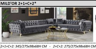 United Furniture - Mildór Sectional large and small models including delivery in Spangdahlem, Germany