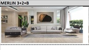 United Furniture - Merlen Livingroom Set - Sofa - Loveseat - Chair including delivery in Ansbach, Germany
