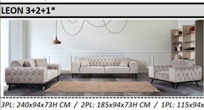 United Furniture - Leon Living Room Set - New Colors - including delivery in Spangdahlem, Germany