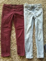 Size 8 girls jeans in Sugar Grove, Illinois