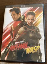 Ant-Man and the Wasp DVD in Naperville, Illinois