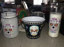 Day of the Dead Decorations in Wheaton, Illinois
