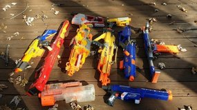 OVER 45 NERF GUN PIECES in Naperville, Illinois