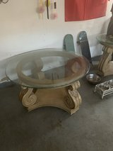 Coffee table set of 3 Round table. in Fairfield, California
