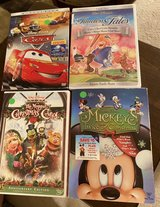 4 Disney DVDs in Plainfield, Illinois