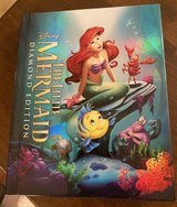 Little Mermaid Blu-Ray/DVD/Storybook in Bolingbrook, Illinois