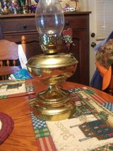 old brass electric lamp in Fort Knox, Kentucky