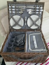 Picnic hamper in Lakenheath, UK