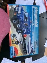 playmobil police truck and trailer with boat in Lakenheath, UK
