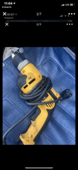DEWALT Electric Drill 110V - Works Excellent $65 OBO in The Woodlands, Texas