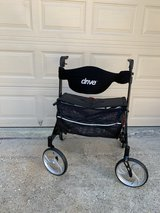 DRIVE MEDICAL GV974HD-BK ROLLATOR Extra Wide in Kingwood, Texas