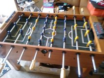 Foosball table in Sugar Grove, Illinois