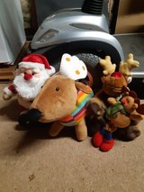 Christmas teddies x 4 in Lakenheath, UK