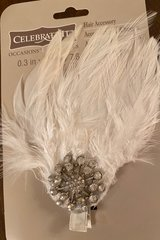 Feather Hair Clip in Naperville, Illinois