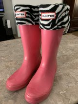 Hunter Boots with sock inserts in Stuttgart, GE