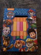 Paw patrol book set in Lakenheath, UK