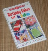 Favorite All Time Recipes Birthday Cakes for Kids Spiral Bound Book in Yorkville, Illinois