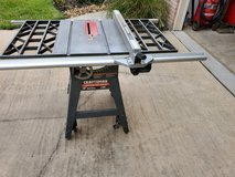 "Craftsman 10"" Contractor Series Table Saw 113.299.410 in Conroe, Texas"