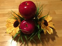 Beautiful sunflower and apples center piece! in Kingwood, Texas