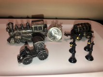 Miniature misc pewter figures in Bartlett, Illinois