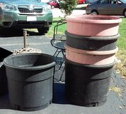 Sears Shop Vac Tubs (planters, fountains, bins) in Plainfield, Illinois