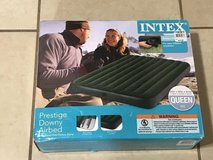 Intex Prestige Downy Queen Size Air bed with Hand Held Pump New in Fairfield, California
