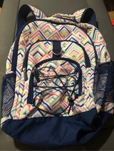 Girls Pottery Barn Kids Backpack Rainbow Chevron in Naperville, Illinois