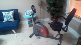 Recumbent bike/ in Moody AFB, Georgia