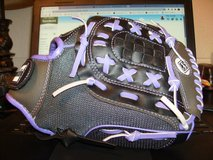 "Franklin 11"" Fastpitch Pro Series Softball Glove RHT Purple/Grey in Clarksville, Tennessee"