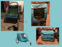 Bell 2-Child Smooth Sailer Bike Trailer/Stroller - preowned in Rolla, Missouri