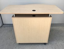 Mobile Instructors Desk, Store Front Counter, Craft Table, Desk - New! in Plainfield, Illinois