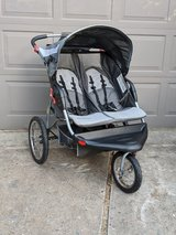 Jogging Stroller, Expedition Baby Trend Double/Twin in Kingwood, Texas