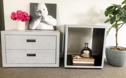 Crate and Barrel Nightstand set in Batavia, Illinois