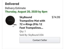 12 foot Skybound Trampoline mat- NIB in Plainfield, Illinois