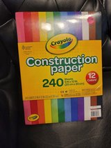Construction paper *new* in Bolingbrook, Illinois