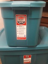 Rubbermaid storage containers. 31 gallon and 18 gallon in Ramstein, Germany