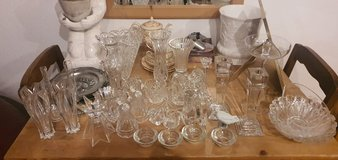 Christmas special Big Lot of Lead Crystal goods in Grafenwoehr, GE