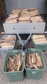 Speedy Seasoned Oak Firewood Delivery in Stuttgart, GE