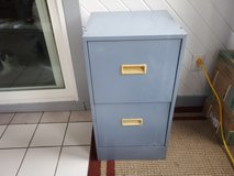 2 drawer blue metal filing cabinet in Batavia, Illinois