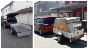 Small and Medium Size Items Transport in Stuttgart, GE