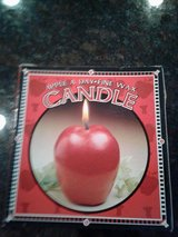 Beautiful life-like unsented new Apple Candles in Denton, Texas