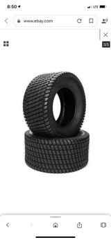 2 Turf Tires. 23x9.5-12 NHS in Beaufort, South Carolina