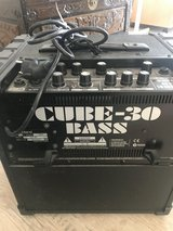 Cube Bass Amp 220 volt in Ramstein, Germany